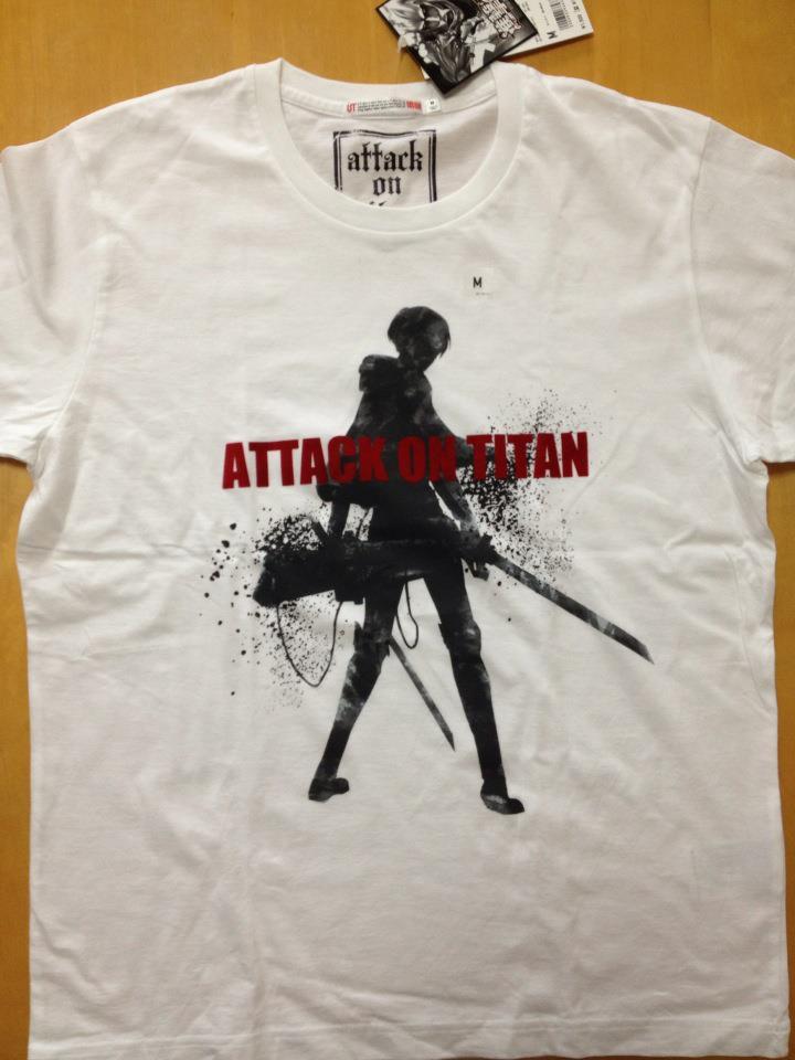 進撃の巨人Tシャツ